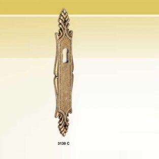 Bocallave Escudo, 25 x 125 mm.