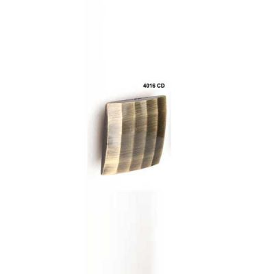 Pomo Cuadriculado Convexo, 50 x 50 mm.