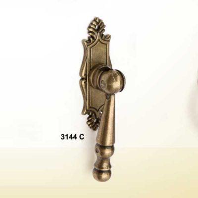 Tirador Escudo con Pendulo, 20 mm x 60 mm.