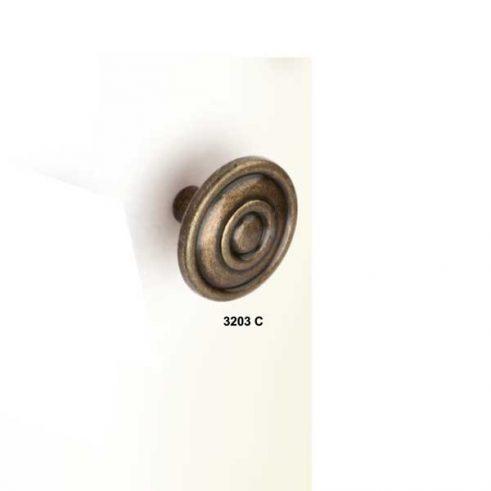 Pomo Luis Felipe Grande de 33 mm diametro.