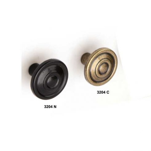 Pomo Luis Felipe Pequeño de 27 mm diametro.