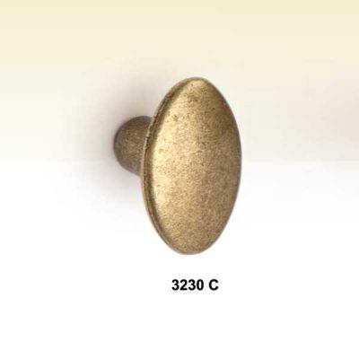 Pomo Ovalo Chico 20 mm x 30 mm.